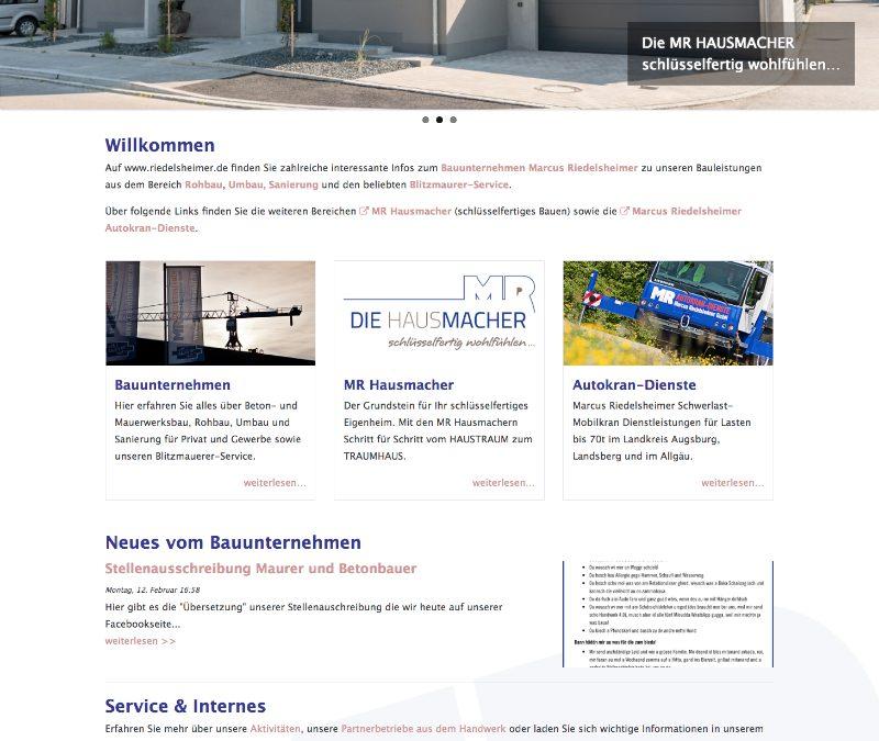 Riedelshheimer.de